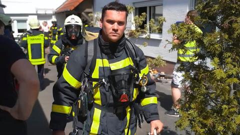 Die Feuerwehr Hanau ist zu einem Küchenbrand in der Innenstadt gerufen worden.