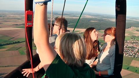 Mit Feuer und Wind unterwegs: Abenteuer im Ballon über der Wetterau.