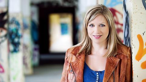 Die Kabarettistin Mirja Regensburg.