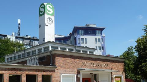 Nordbahnhof in der Invalidenstraße