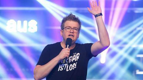 Der Parodist Thorsten Bär.