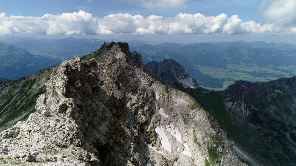 Klettersteig Nebelhorn : Tagestour hindelanger klettersteig