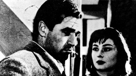 Steve Cochran als Aldo und Alida Valli als Irma.