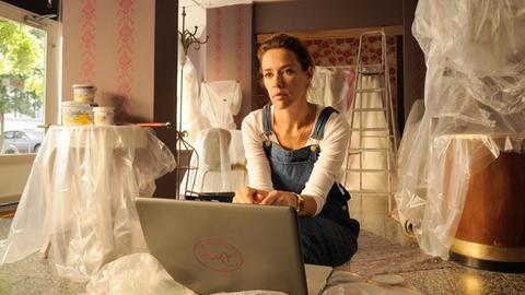 Rosa (Alexandra Neldel) hat ein Händchen für Traumhochzeiten – aber keine Ahnung vom Erstellen eines Businessplans.