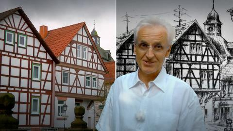 Der Augenarzt Helmut Schraml aus Ober-Ohmen im Vogelsberg engagiert sich für die Erhaltung seines Dorfes.