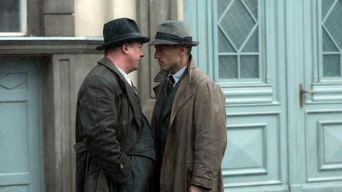 Gereon Rath (Volker Bruch) und Wolter (Peter Kurth) geraten aneinander.