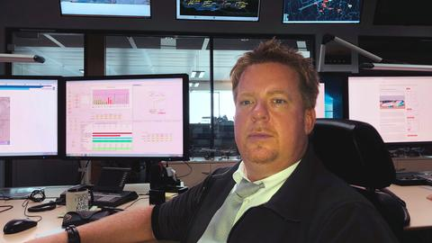 Tobias Graszt, Airport Duty Manager auf dem Frankfurter Flughafen.