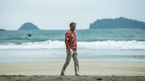 Ein Mann am Strand