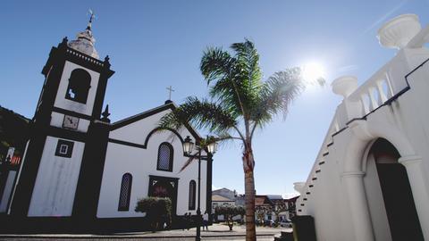 Kirche in Velas.
