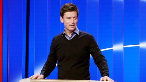 Moderator Sascha Hingst.