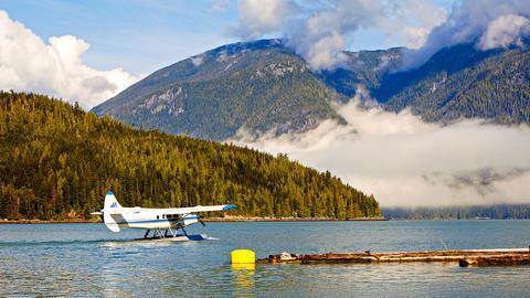 Im Knight Inlet, einer entlegenen Region an der Westküste von British Columbia.