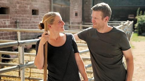 Nina und Sebastian Kill haben auf dem Bärenbrunnerhof eine neue Heimat gefunden.