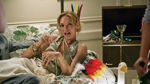 Feiert ihre bevorstehende Hochzeit: die schöne Zoe (Uma Thurman).