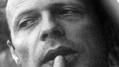 Portrait von Patrick Süskind - Mitte der Achtziger Jahre.
