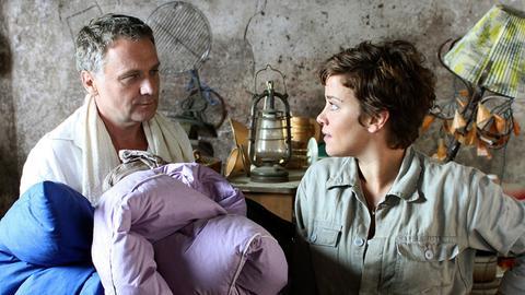 Frieda (Muriel Baumeister) und Felix (Bernhard Schir) müssen sich arrangieren.