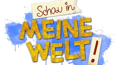 """Das Logo von """"Schau in meine Welt""""."""