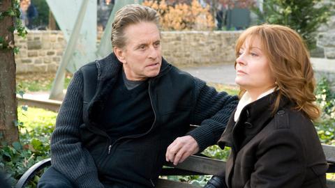 Endlich kommt es zwischen Ben (Michael Douglas) und seiner Ex-Frau Nancy (Susan Sarandon) zu einer offenen Aussprache.