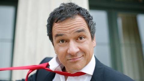 Der Kabarettist, Comedian und Moderator Stephan Bauer.