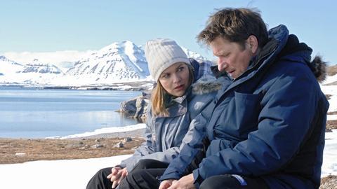 Martin (Michael Fitz) und Nina (Birge Schade) sprechen sich endlich aus.