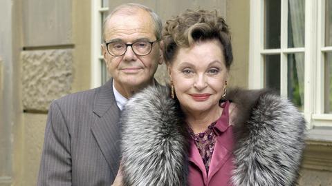 Barbaras Schwiegereltern: Die Film-Diva Gunhild Reichenbach (Nadja Tiller) und ihr Ehemann Konstantin (Walter Giller).