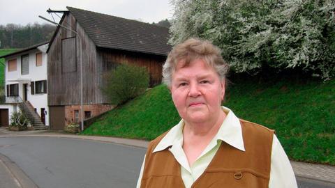 Antonie Müller aus dem Odenwald.
