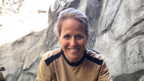 Dr. Nicole Schauerte im Zoo Frankfurt.