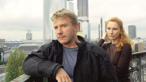 Kommissarin Charlotte Sänger (Andrea Sawatzki) und Kommissar Friedrich Dellwo (Jörg Schüttauf).