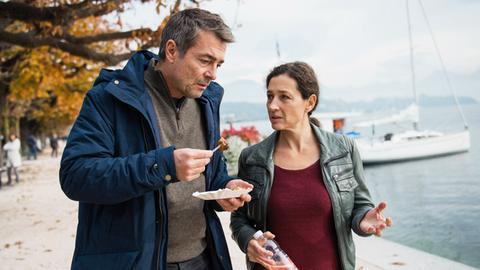 Reto Flückiger (Stefan Gubser) und seine Kollegin Liz Ritschard (Delia Mayer) ermitteln den seltsamen Fall eines Computerfachmannes, der sich verfolgt fühlt.