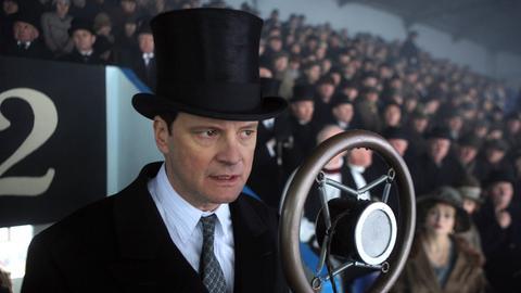Bei einer öffentlichen Rede kommt Prinz Albert (Colin Firth) ins Stottern und blamiert sich bis auf die Knochen.