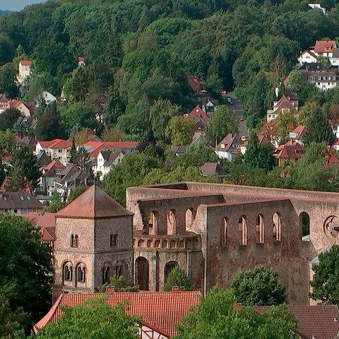 Blick auf die Bad Hersfelder Stiftsruine.