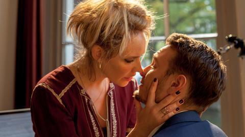 Die große Liebe: Max (Vladimir Burlakov) und Sophie (Bracha van Doesburgh).