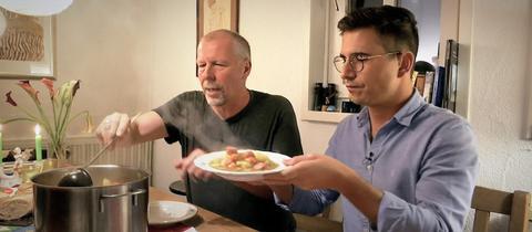 Die Familie Herrmann-Bauer hat sich auf dem Kirchberg bei Lollar ein Wohnidyll geschaffen.