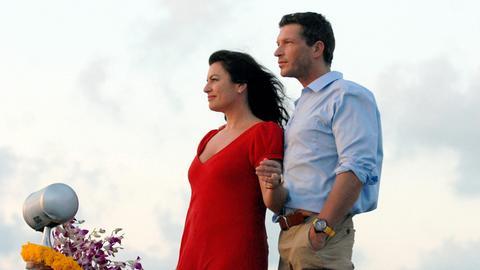 Maria (Christine Neubauer) verliebt sich in den netten Martin (Hardy Krüger jr.).