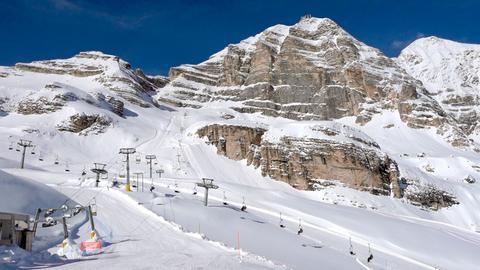 Winterreise durchs Schnalstal und die Dolomiten