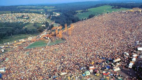 Woodstock Festival Gelände
