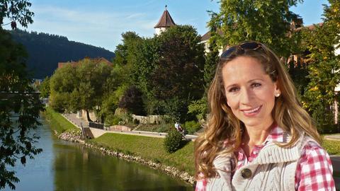 Moderatorin Tamina Kallert bereist das schöne Taubertal.