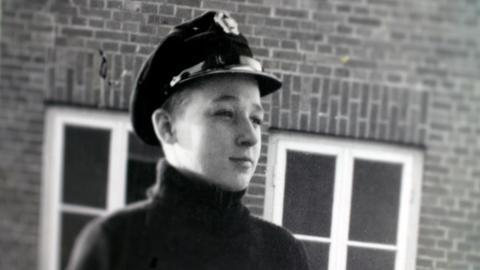 Hans Crüger als junger Mann.