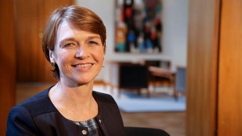 Elke Büdenbender, die Frau des Bundespräsidenten Frank-Walter Steinmeier