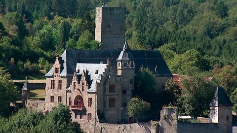 Blick auf Schloss Kransberg.