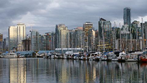 Blick auf Vancouver.