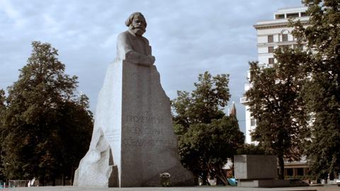 Marx-Denkmal in Moskau.