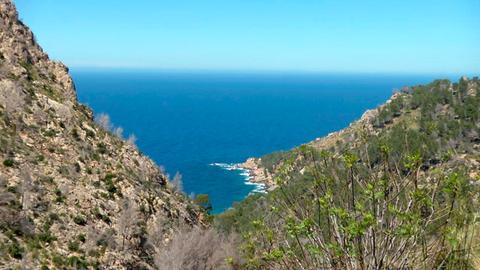An der Westküste von Mallorca hinter Andratx.