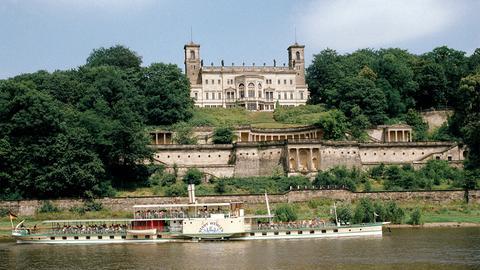 Schloß Albrechtsburg an der Elbe.