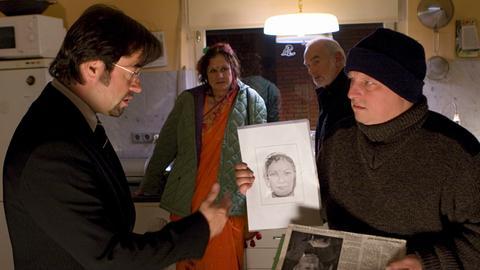 Kommissar Frank Thiel (Axel Prahl,re) allerdings findet Boernes (Jan Josef Liefers) Alleingänge alles andere als hilfreich.
