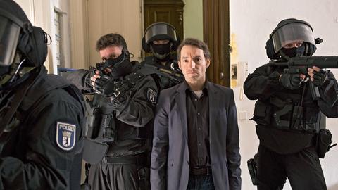 Hauptkommissar Felix Stark (Boris Aljinovic) konnte mit dem SEK den Mörder stellen.