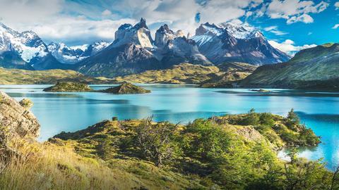 Landschaft in Patagonien