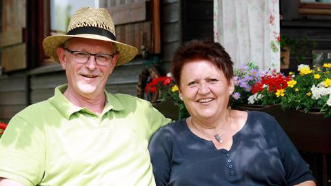 Die Gastgeber aus Kassel: Norbert und Konni Rissmann.