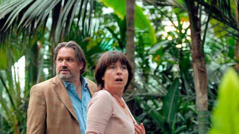 Wolfgang Kunert (Michael Brandner) und seine Frau Karin (Franziska Walser).