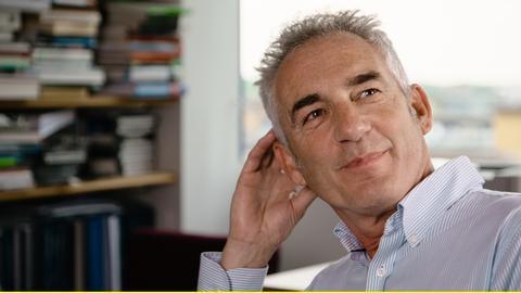 Tim Jackson, weltberühmter Ökonom und Wachstumskritiker.
