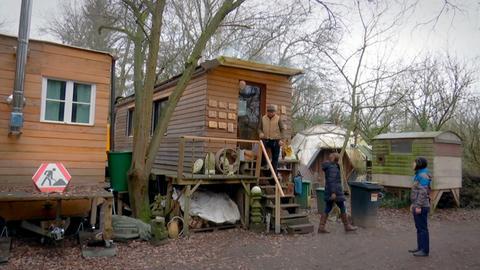 Jilly Latumenas Tiny House: Sie wohnt in einem Bauwagen.